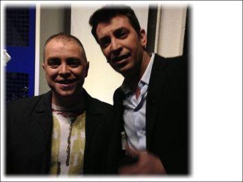 Con Arturo Valls