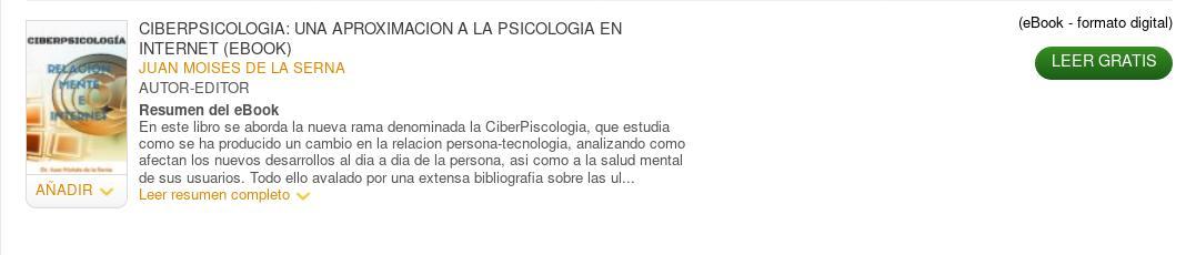 Ciberpsicologia - La Casa del Libro-min - Catedra Abierta de Psicologia y Neurociencias