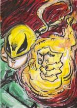 Juan Navarro Upperdeck Dr Strange Cards 002 - Iron Fist