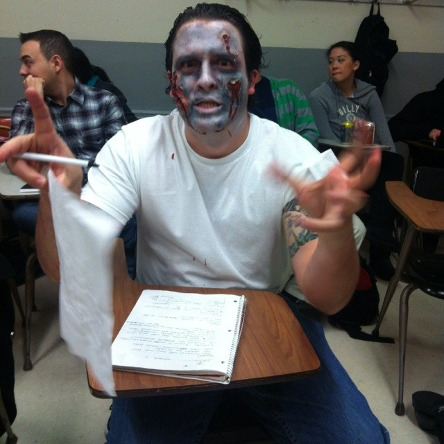 Costumed Student Andrew