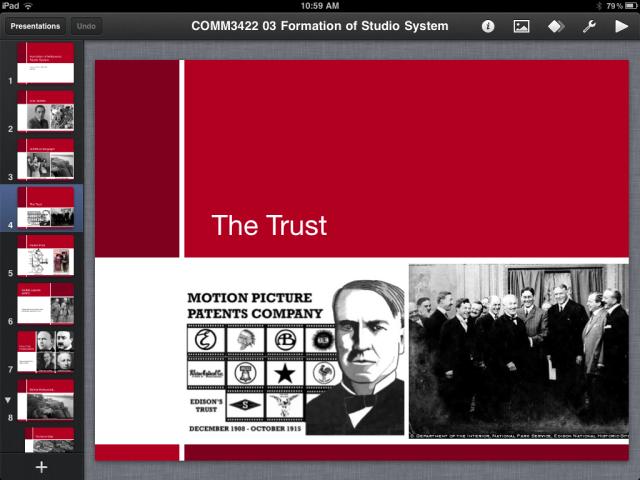 Keynote-iPad