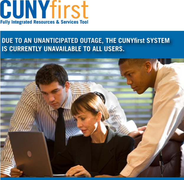 Cunyfirst outage