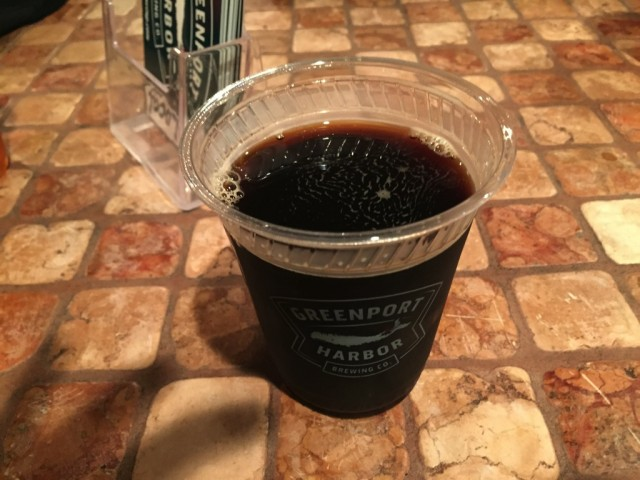 Greenport Harbor Brewing's Porter
