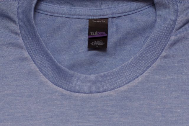 "Tultex – ""pixelated"" weave"