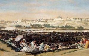La Pradera de San Isidro. Francisco de Goya