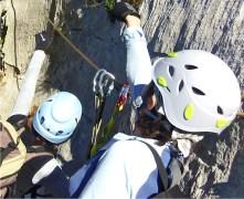 Vía Ferrata cable seguridad