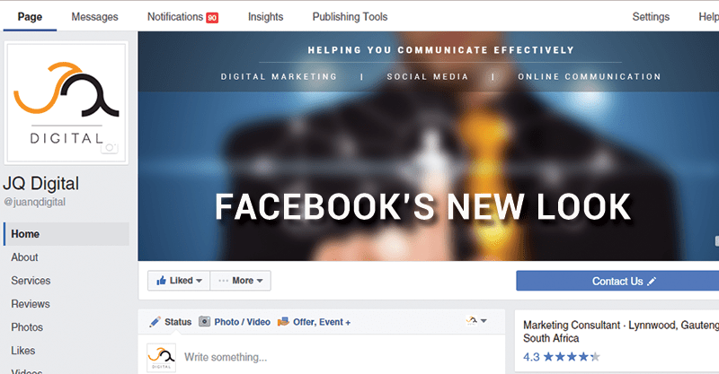 Facebook: A New Look