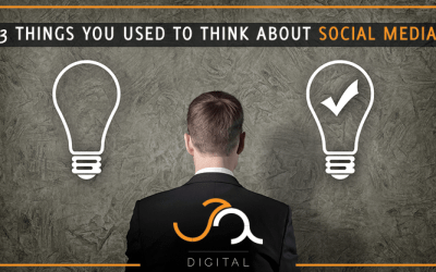 3 Things You Used to Think About Social Media