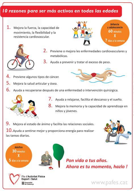 Día Mundial de la Actividad Física 2016 y sugerencias prácticas para el día a día