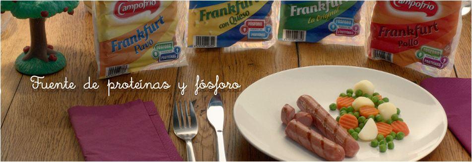 Aludir al contenido de proteínas y fósforo en unas salchichas de Frankfurt es una añagaza para embucharte con ellas