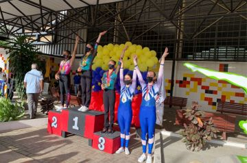 Gimnastas del Centro Italiano Venezolano de Caracas