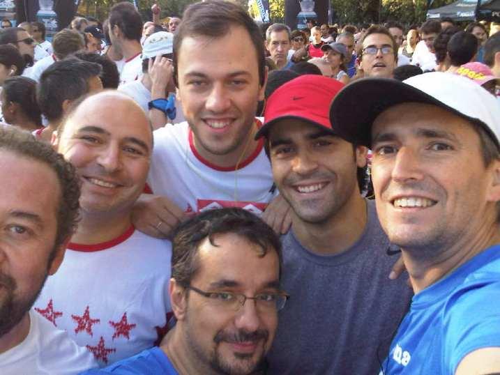 el #tweeteam en Madrid corre por Madrid