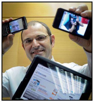 Jose Eulalio Poza, CEO de Ibercom Foto: JMCadenas
