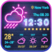 Unduh Sense Flip clock weather forecast 16.6.0.50031 Apk