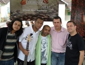 Apresentação dos professores no Café, Cachaça e Chorinho 2013