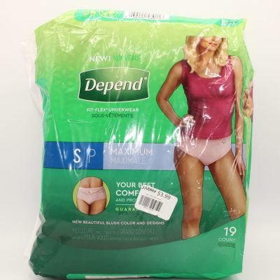 Depend Fit-Flex Underwear
