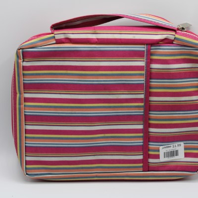 Multipurpose Striped Bag