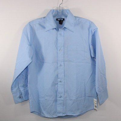 Long Sleeve Blue Shirt | Size 8