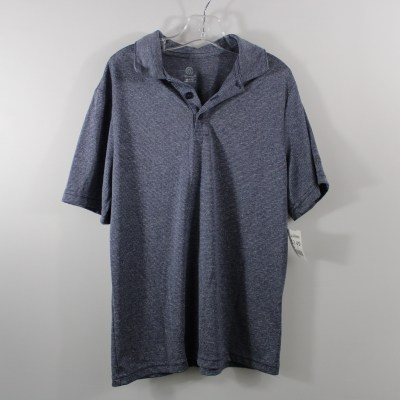 Champion Blue Striped Collared Shirt | Size 8-10