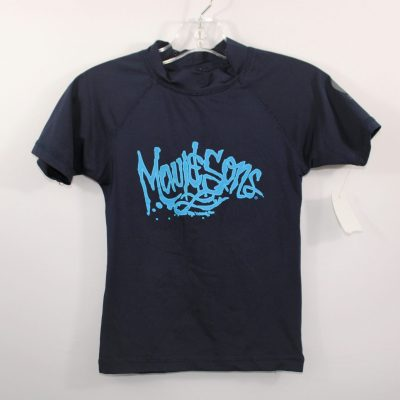 Maui & Sons Navy Blue Swim Shirt | Size 8