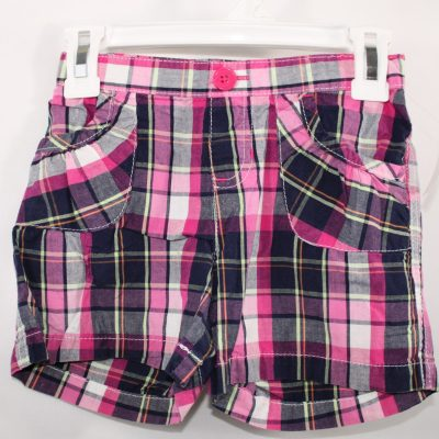 Jumping Beans Pink & Navy Shorts | Size 6x