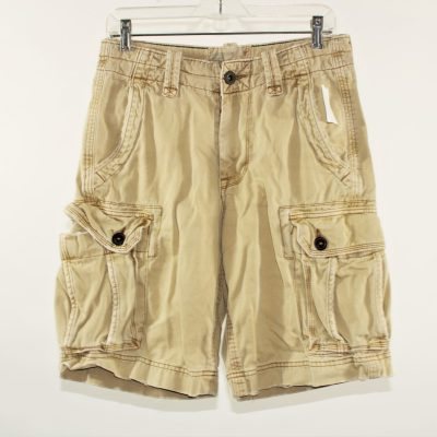 American Eagle Outfitters Tan Cargo Shorts | Size 28