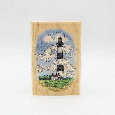 Stampendous Bodie Island Lighthouse Stamp