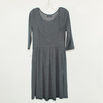 Reborn Soft Gray Dress | Size M