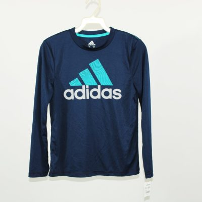 Adidas Blue Tech Shirt | Size S (8)