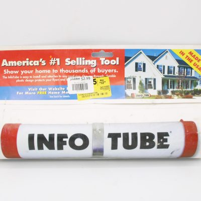 Info Tube for Realtors or Homeowners