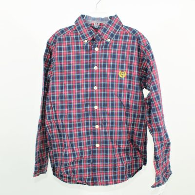 Chaps Plaid Shirt | Size 8-10