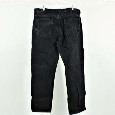 Faded Glory Black Jeans   Size 38x32