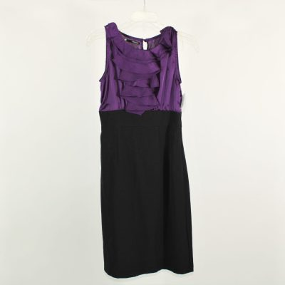 Maurices Black & Purple Dress | Size 1/2