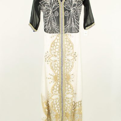 Traditional Indian Beaded Dress | L