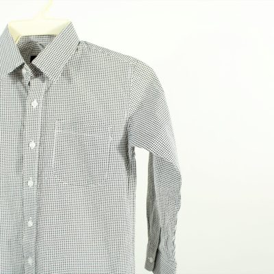 Vittorino Houndstooth Button Down Shirt | Size 8