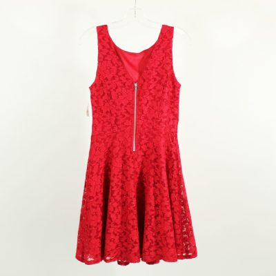 Speechless Red Lace Dress | Size 7