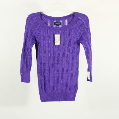 NEW American Eagle Purple Knit Top | XS