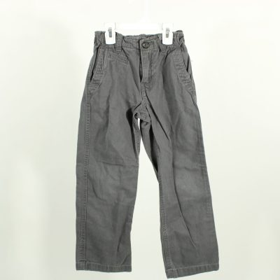 Gap Kids Slim Straight Fit Gray Pants | Size 7