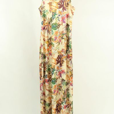 LuLaRoe Floral Maxi Dress | L