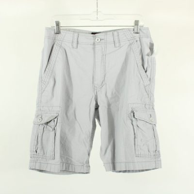 Wear First Gray Cargo Shorts | Size 30