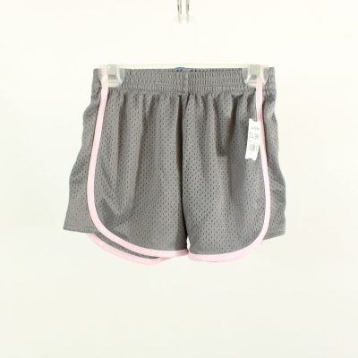 Danskin Now Gray & Pink Athletic Shorts | Size 7/8