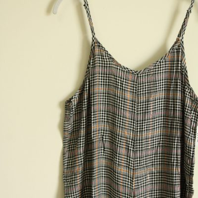 NEW Sandy & Sid Hounds Tooth Jumpsuit | Size L