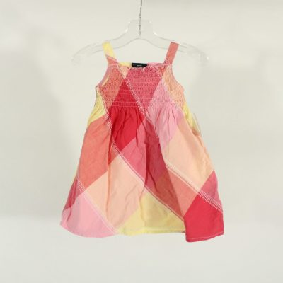 Faded Glory Pink Patterned Dress | Size 18M
