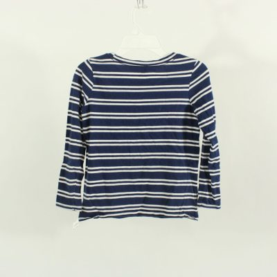 Old Navy Blue Striped Long Sleeved Shirt | Size 8
