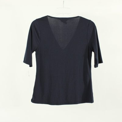 George Navy Stretch Top | Size S