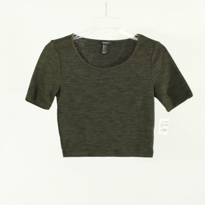 Forever 21 Olive Green Crop Top | Size S