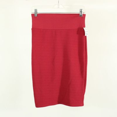 LuLaRoe Red Skirt | Size XS
