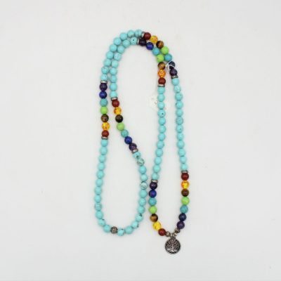 Stunning Turquoise Beaded Necklace