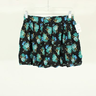 Wet Seal Blue Floral Skirt | Size Small