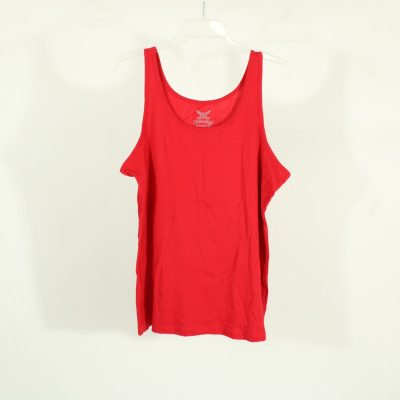 Faded Glory Red Tank Top | Size XXL